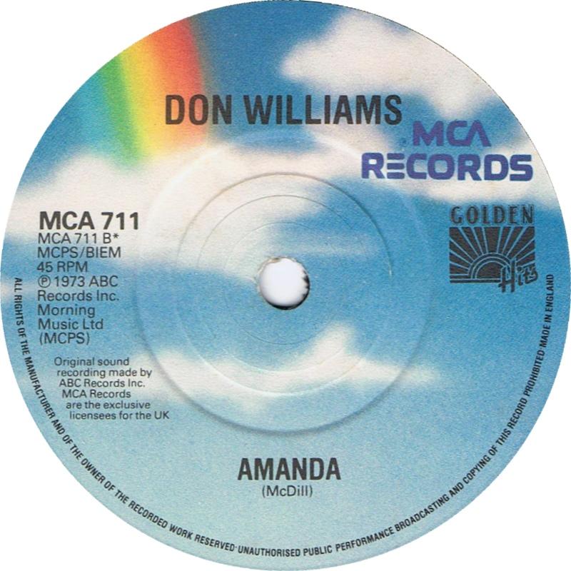 Don Williams - Amanda mp3 download