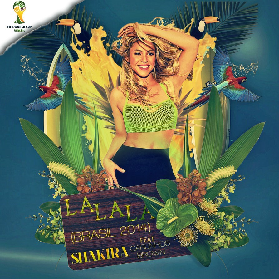 Shakira - La La La + Brazil 2014 Version Ft. Carlinhos Brown mp3 download