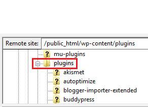 click on plugins
