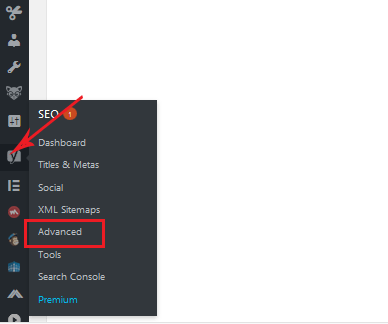 configuring advanced settings