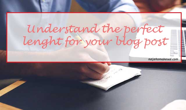 How log should my blog post be?