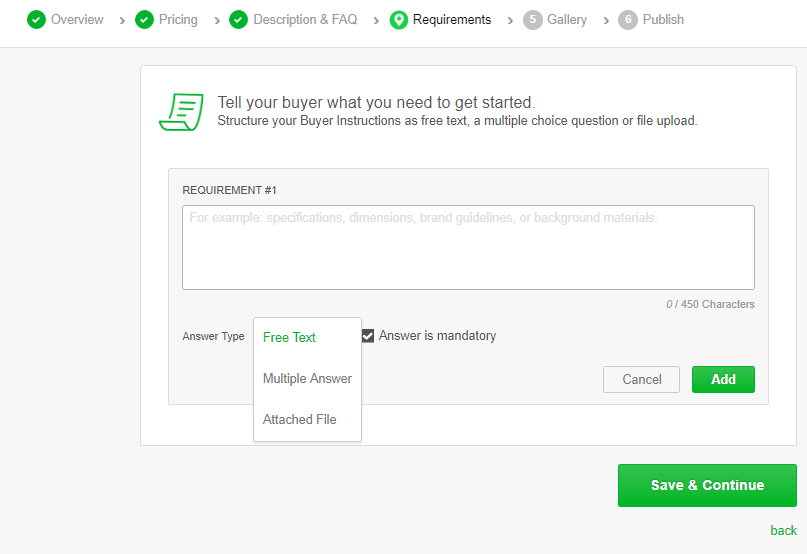 How to Create a Gig On Fiverr — A Step-by-Step Guide (With