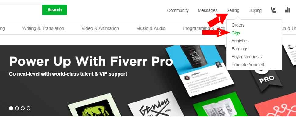 How To Create Fiverr Gigs