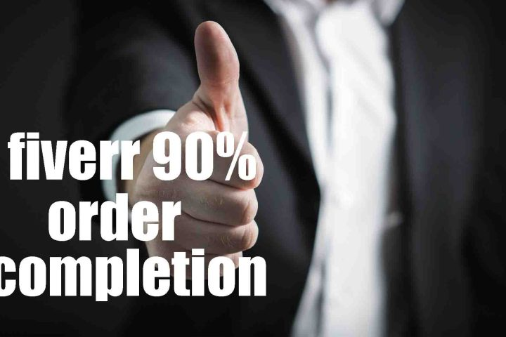 Getting 90% order completion rate on Fiverr