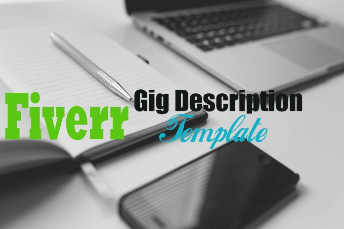 Fiverr gig creation template