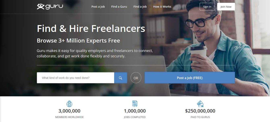 Guru.com: Find & Hire Freelancers