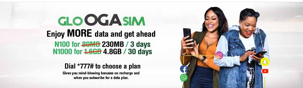 Glo Oga SIM: Enjoy more data and get ahead