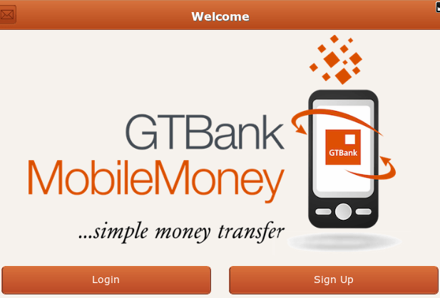GTBank mobile money... Simple money transfer