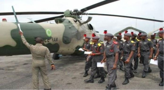 Nigerian Air Force DSSC requirements