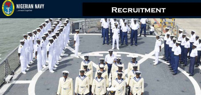 Nigerian Navy recruitment guide and application portal