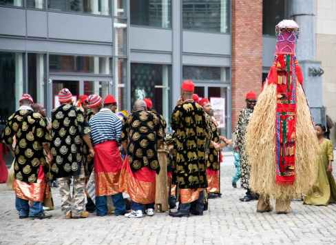Igbo culture, people, festival, clothes