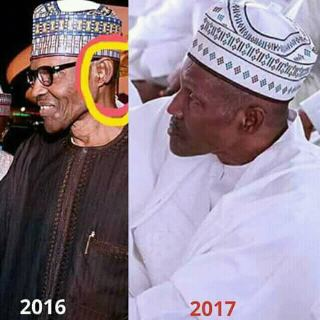 Photo of Aminu Jibrin or president Buhari?