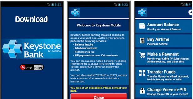 Download Keystone bank mobile app