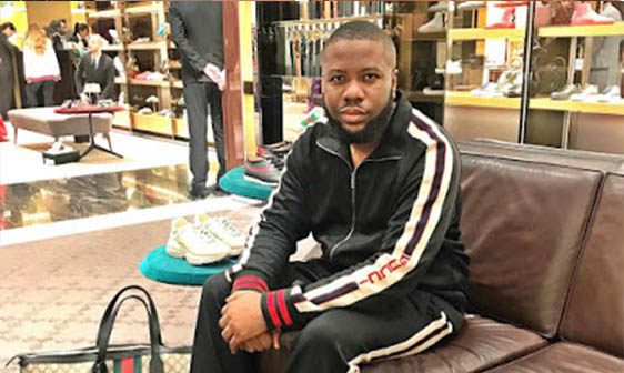 cheap for discount a47c8 64155 Hushpuppi Biography: Real Name, Family, State of Origin ...
