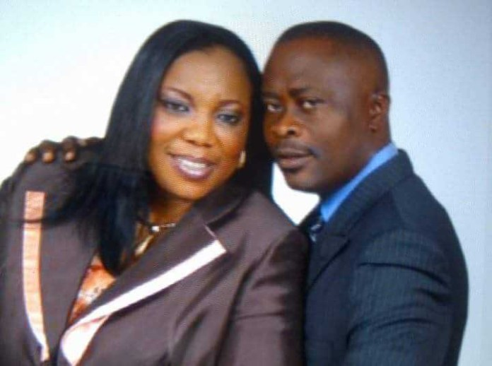 Kunle Soname and his wife