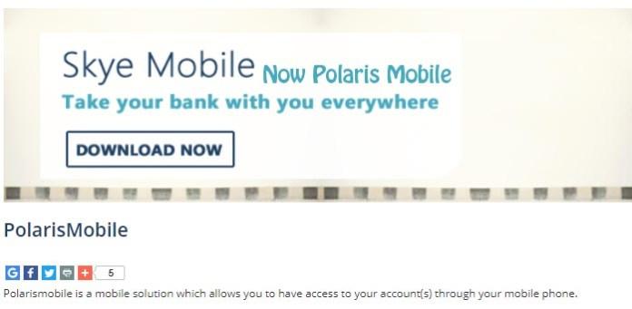 Download Polaris bank mobile app