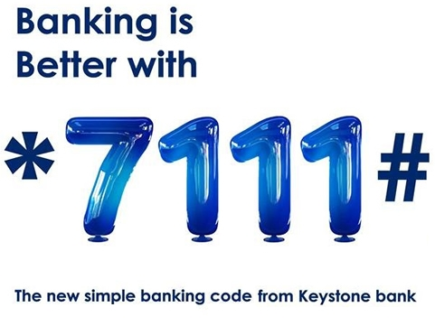 The new simple banking code from keystone bank