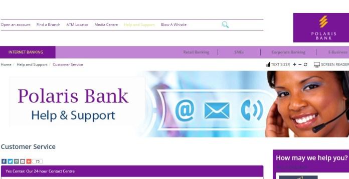 Polaris Bank Help & Support: Customer service