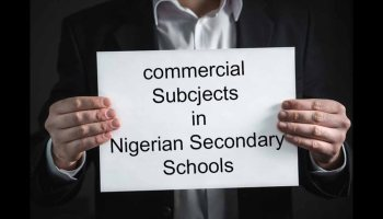 List of Commercial Subjects in Nigerian Secondary School