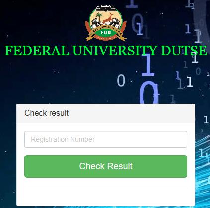 Federal University Dutse post utme result checking portal