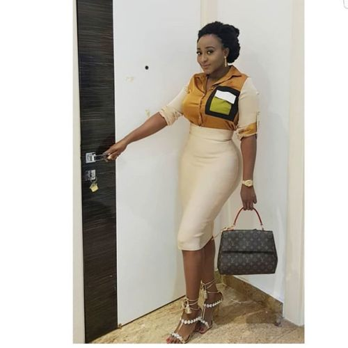 Ini Edo looking super hot