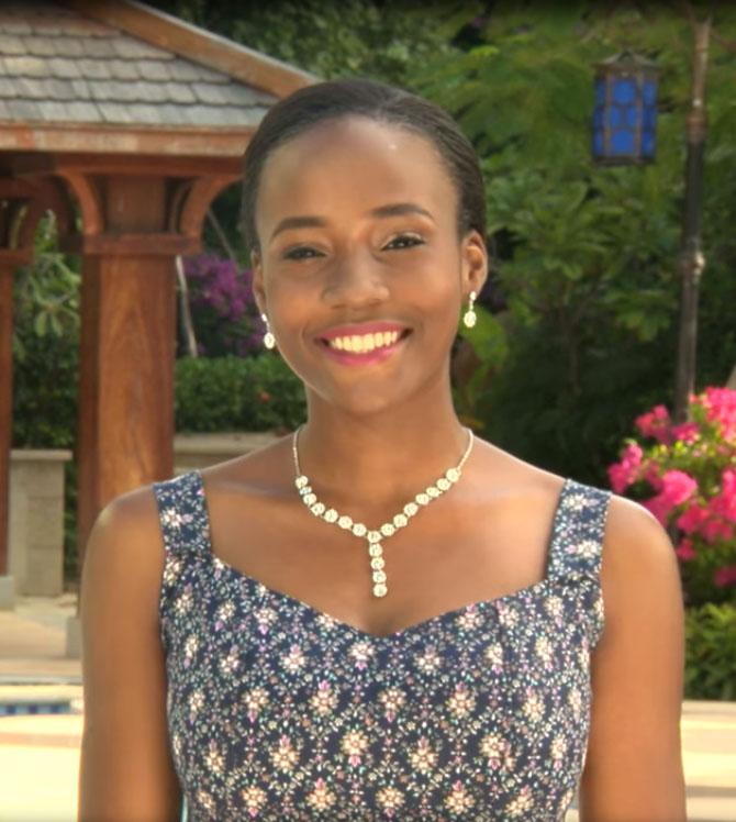 Unoaku Anyadike won Most Beautiful Girl in Nigeria 2015