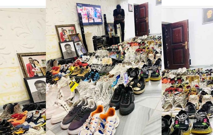 Akpororo shoe collection