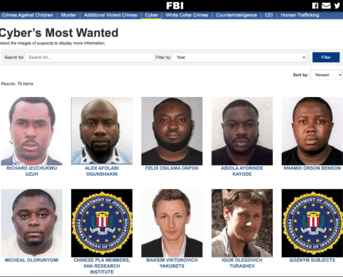 Nigerians drag FBI for focusing on 6 Nigerians among several suspects from other nations