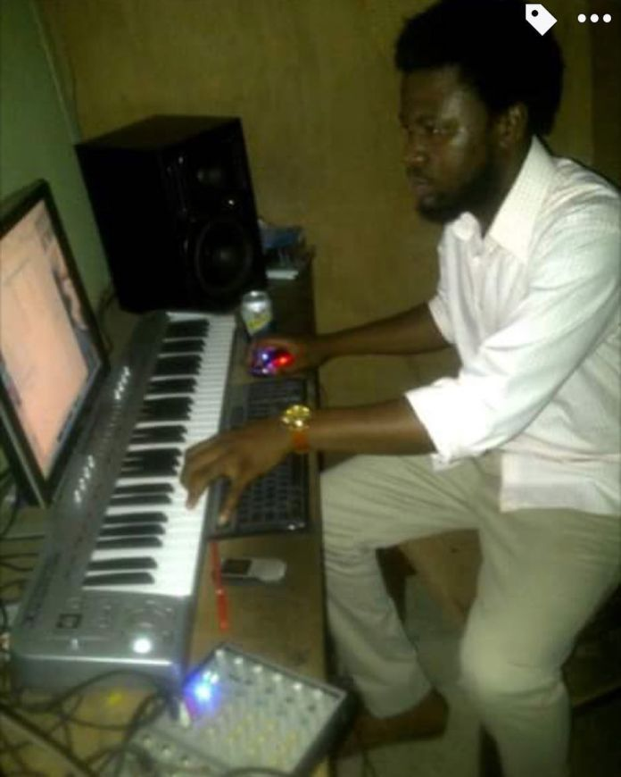 Throwback picture of when Hushpuppi aspired to become a music producer.