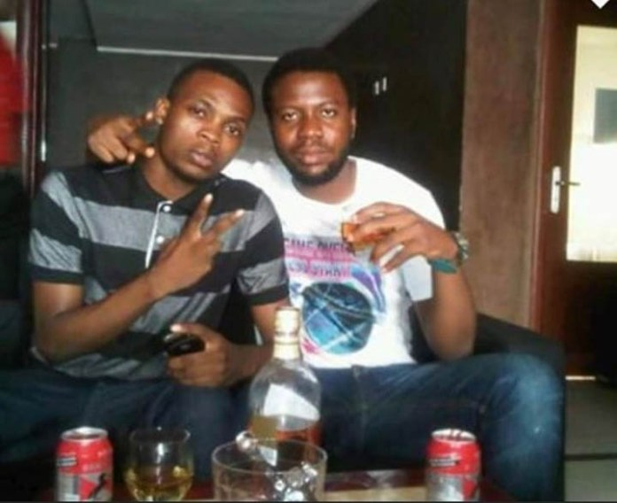 Hushpuppi and Nigerian singer Olamide back when they were not rich.