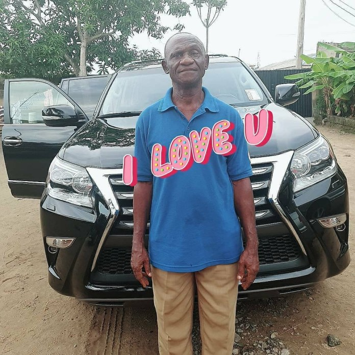 Uche Elendu celebrates her father on father's day