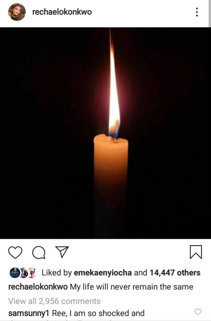 Rachael Okonkwo loses mum