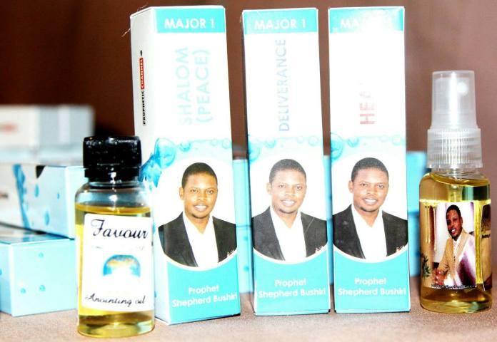 Prophet Bushiri's miracle oil