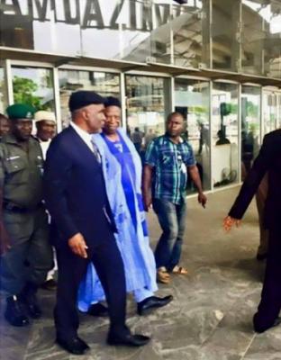 Former Adamawa State Governor, Murtala Nyako returns to Nigeria