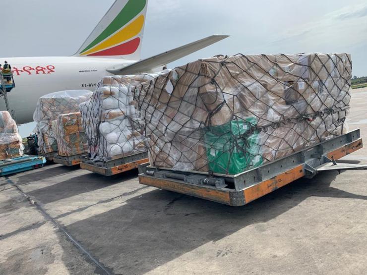 #Coronavirus: Chinese Billionaire Jack Ma's Medical Supplies arrives Nigeria