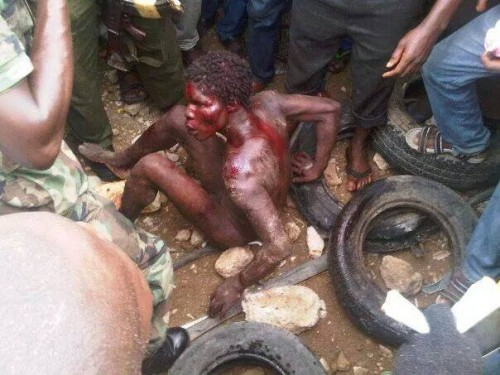 1962850 10152086104936235 6476257542241070122 n 500x375 Breaking News:  Mad Woman Caught In Osogbo Kidnapped 3 Kids [See Photo]