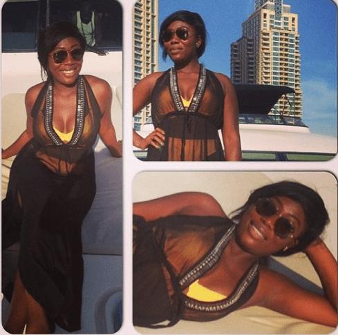 tiwa3 Tiwa Savage,Husband And Friends Go On Boat Cruise In Dubai (Photos)