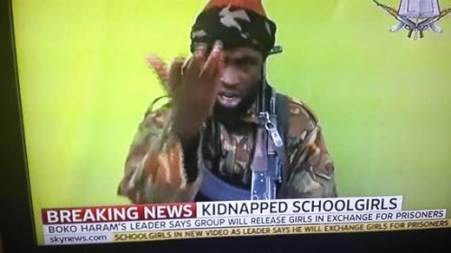 aaaaaaa 500x281 See Photos Of Abducted Chibok Girls From New Boko Haram Video [Photos+Video]