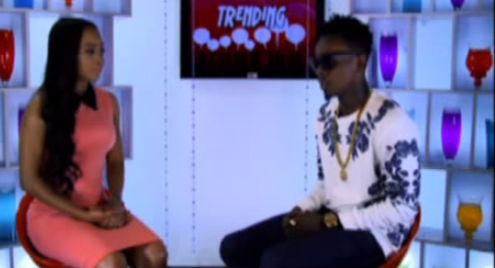 patoranking [Video] Patoranking Interview With Toke Makinwa