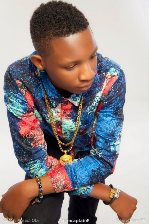 CAT e NL2 Omotola Jalade Ekeindes 15 Year Old Son CaptainE Becomes Africas Youngest Music Producer