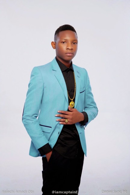 CAT e NL5 Omotola Jalade Ekeindes 15 Year Old Son CaptainE Becomes Africas Youngest Music Producer