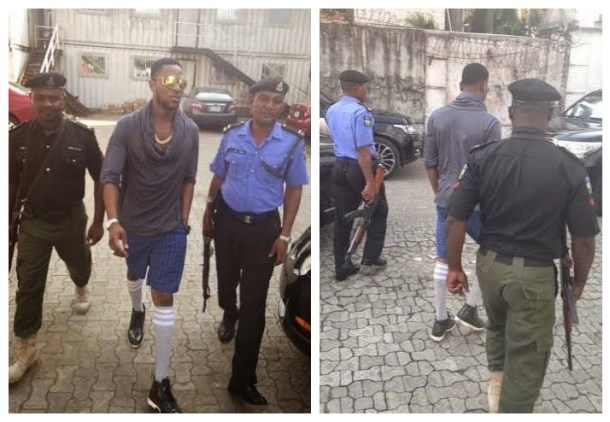dbanj 700x484 Check Out DBanjs Outfit Today! Looking Extra Dapper [See Photos]