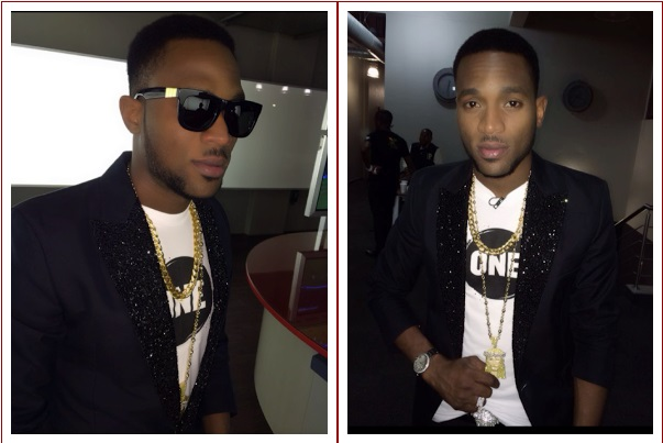 dbanj1 See Dbanj Stylish Look As He Dines With BBA Housemates (Photos)