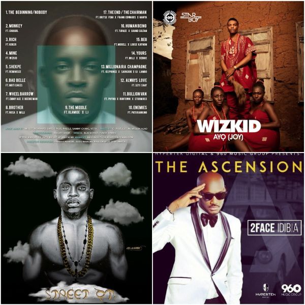 download 2 M.I, Wizkid, 2Face & Olamides Album, Which Do You Think Is The Dopest?