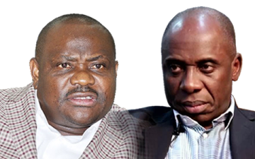 Image result for Amaechi -Governor Wike