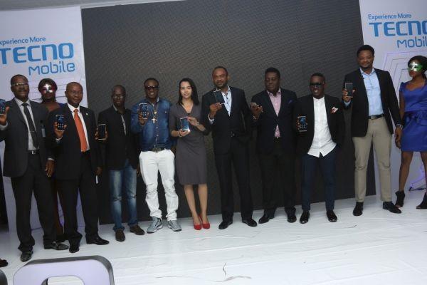 L-R Mr. Yakubu, Consumer protection council, Mr. Louis Njoku (SON), Jesse Oguntimehin TECNO, Chuddy K, Hanane Karroumi TECNO,  Mr. Chidi Okonkwo, MD TECNO Nigeria, Mr. Oye Akideinde TECNO, M.I Abaga, Attai Oguche TECNO