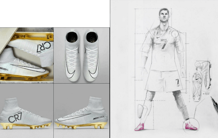See Cristiano Ronaldo's Nike Boots Made Specially For Him, After Winning The 2016 Ballon D'or (Photos)