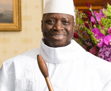 Gambian President Allegedly Tells African Leaders 'I Wont Step Down' As He Takes Over Independent Electoral Commission