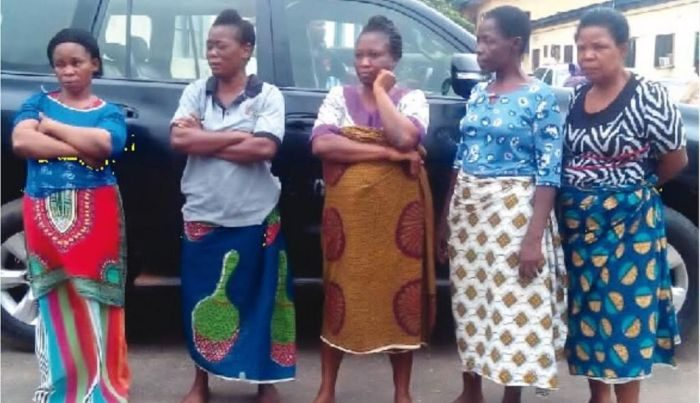 suspects2 1024x589 700x403 - Police Arrest Five Women For Selling Three-year-old Boy (Photo)