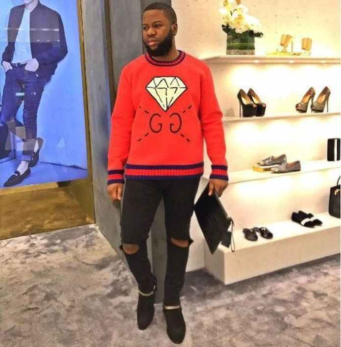 [Ent] Hushpuppi Hospitalized After Too Much Intake Of Alcohol (See The Gucci Man) Huspuppi